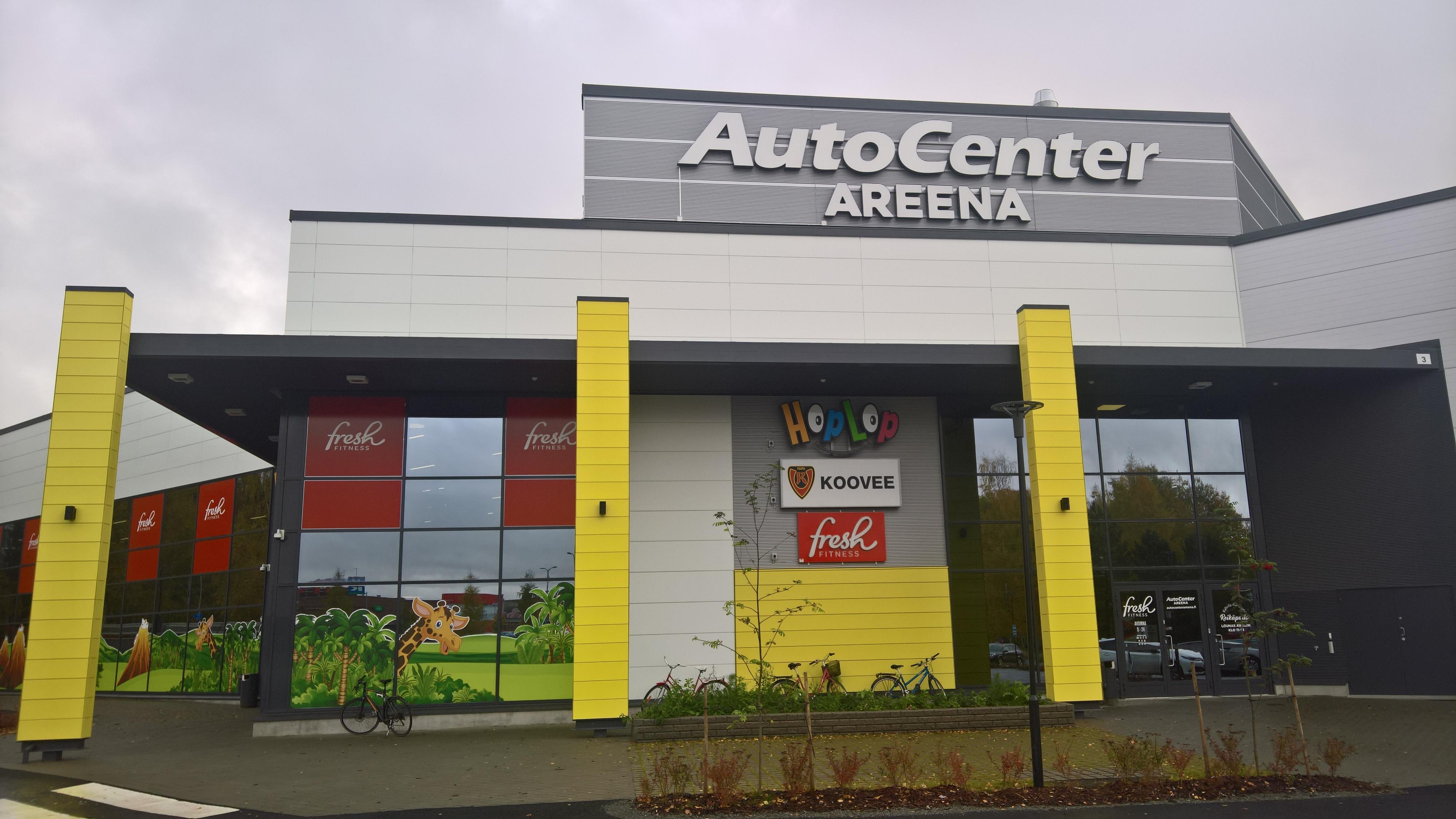 AutoCenter Areena, Tampere