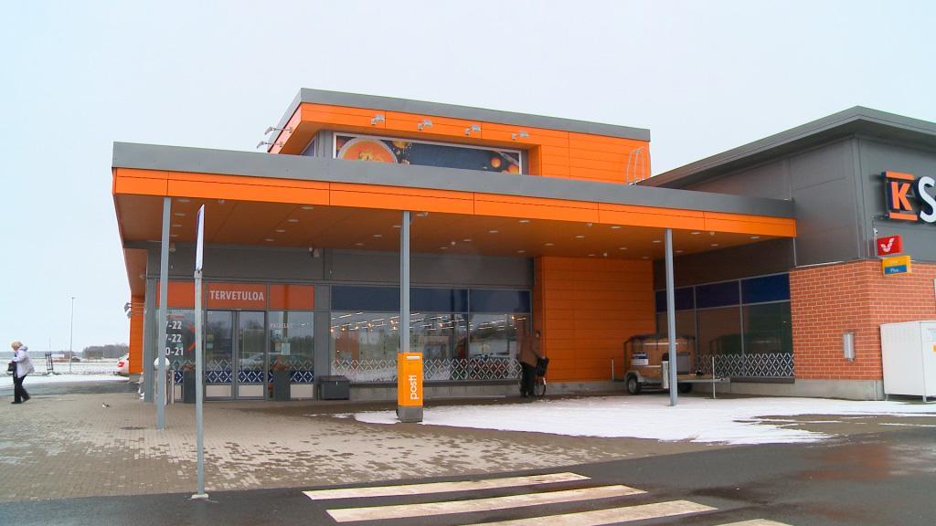 K-Supermarket Ilmajoki teräsrunkorakenteet