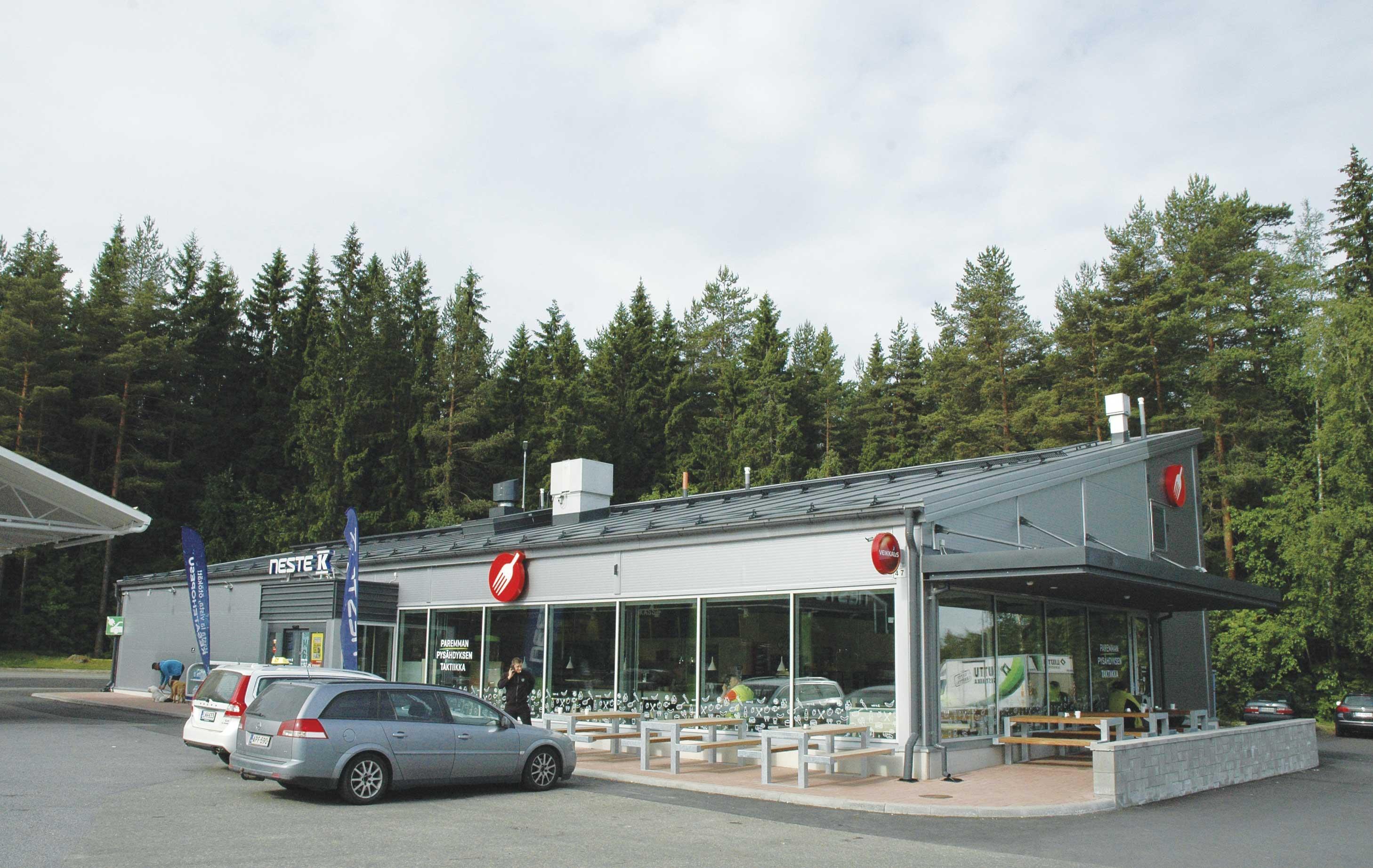 Neste K Teiskontie, Tampere