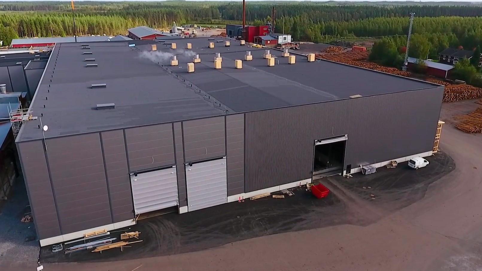 Keitele Timber Oy, Alajärvi