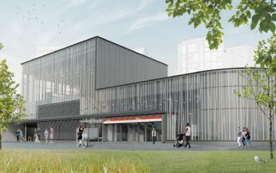 Teräselementti toimittaa julkisivut Finnoon ja Soukan uusille metroasemille