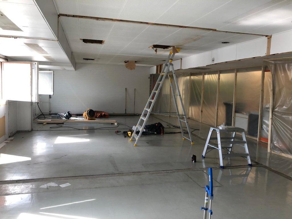 Adara-toimistotilojen saneeraus-sisätilat-Teräselementti