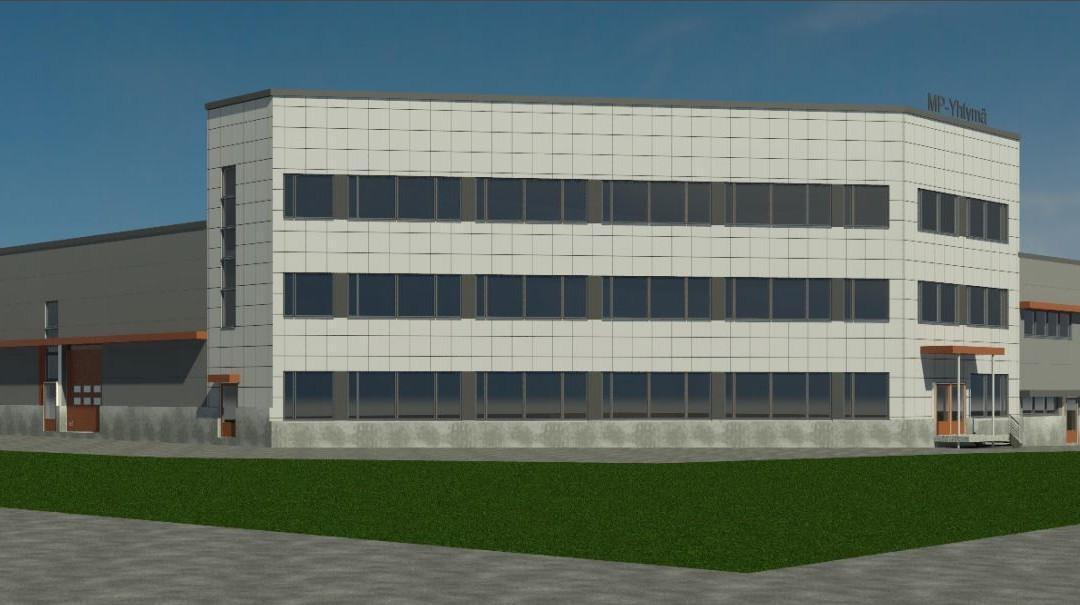 Teräselementti rakentaa 2 800 m²:n toimisto- ja hallirakennuksen Tampereen Lahdesjärvelle