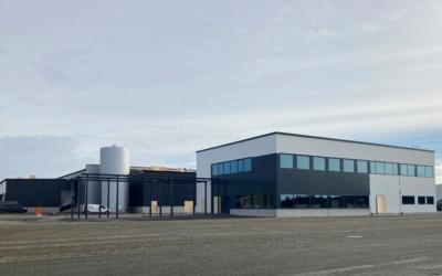 DB Schenkerin Tampereen alueterminaali kohoaa jo harjakorkeudessa