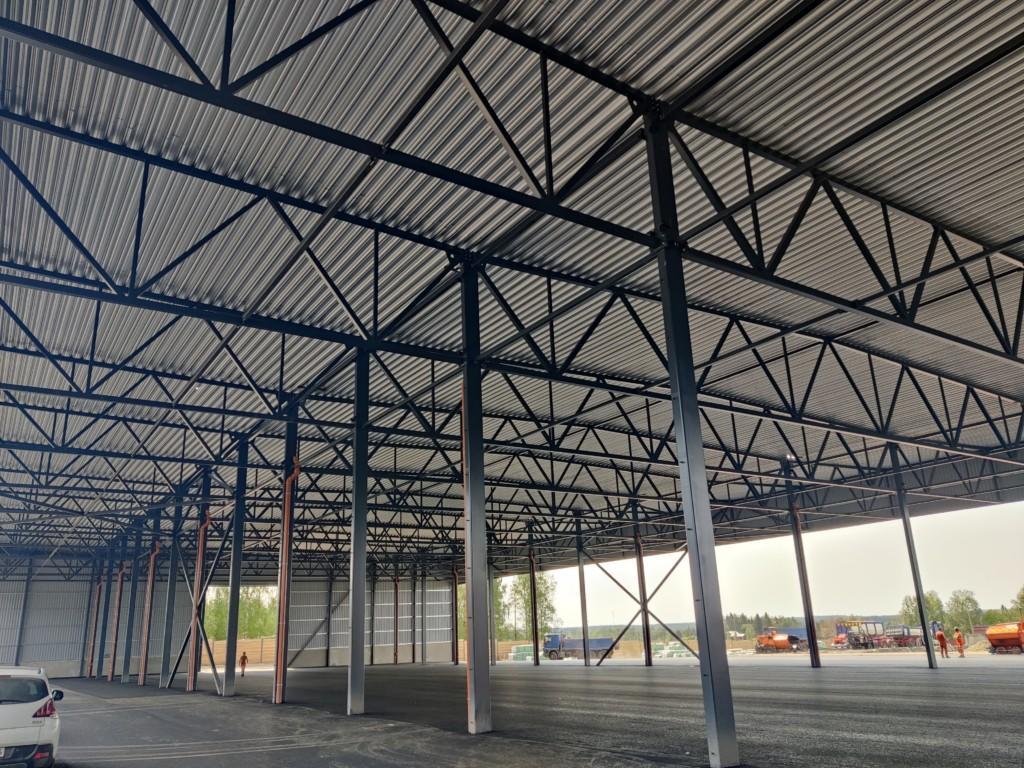 Keitele-Timber2-Alajärvi-teräsrunko-teräsrakenteet-referenssi-Teräselementti