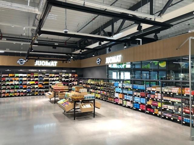 S-market Jukola-teräsrakenteet-katto-referenssi-Teräselementti